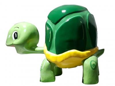 Mô hình rùa xanh dễ thương bằng composite