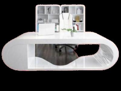 Mẫu bàn nhựa composite trắng tinh tế