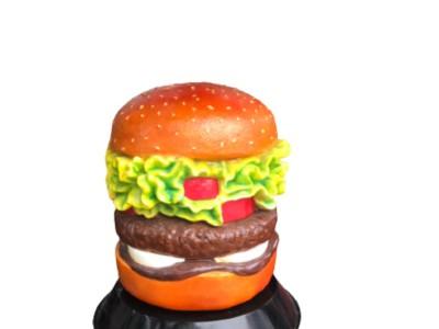 Mô hình hamburger khổng lồ làm từ composite