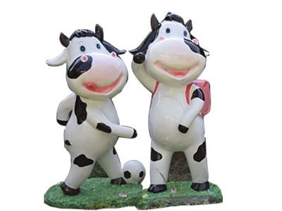 Mô hình composite cao cấp chú bò nhỏ đáng yêu