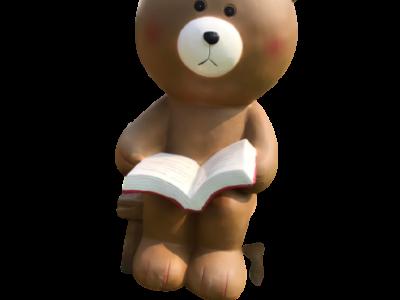 Mô hình gấu nâu làm từ composite