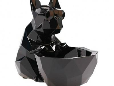 Mô hình chú chó đựng đồ composite cao cấp