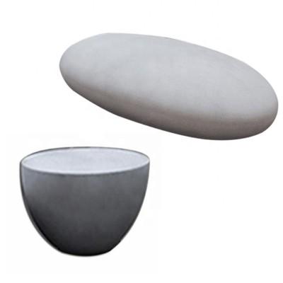 Bộ bàn ghế composite giả đá