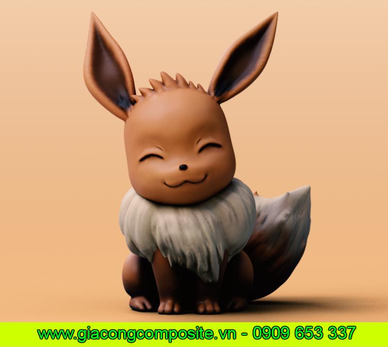 Mô hình Eevee – Pokemon bằng composite, nhận làm Mô hình Eevee – Pokemon bằng composite giá tốt, xưởng gia công mô hình bằng composite, xưởng sản xuất composite, xưởng sản xuất mô hình bằng composite, mô hình bằng composite, gia công Mô hình Eevee – Pokemon bằng composite, nhận làm mô hình bằng composite theo yêu cầu, mô hình bằng composite cao cấp, Mô hình Eevee – Pokemon bằng composite giá rẻ.