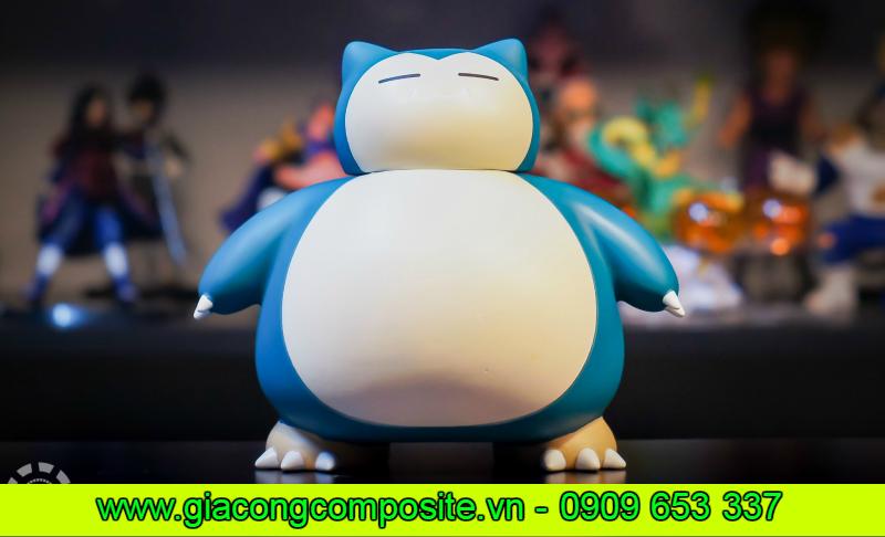 Mô hình Snorlax – Pokemon bằng composite là một sản phẩm được gia công và thiết kế theo yêu cầu, chính vì vậy các chi tiết của sản phẩm hoàn toàn sản xuất dựa trên những ý tưởng của như các yêu cầu cầu của khách hàng. Cùng với những yêu cầu về kĩ thuật và chất lượng thì sản phẩm còn có thể được đảm bảo về các chi tiết của sản phẩm hoàn toàn theo các bản thiết kế đã thồng nhất trước đó.