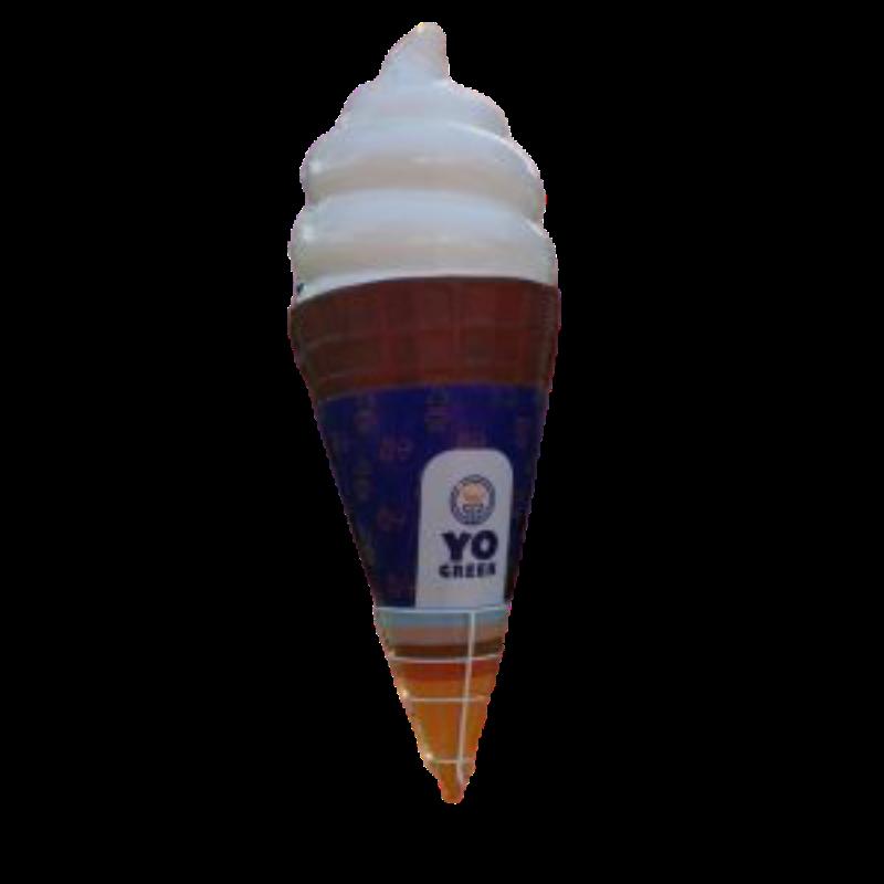 Mô hình cây kem khổng lồ làm bằng composite