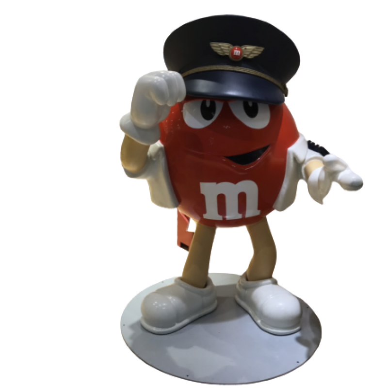 Mô hình nhân vật viên kẹo bằng composite