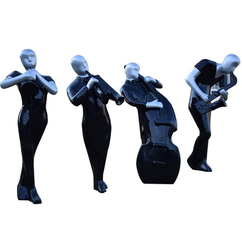 Mô hình tượng điêu khắc nhân vật trừu tượng độc lạ