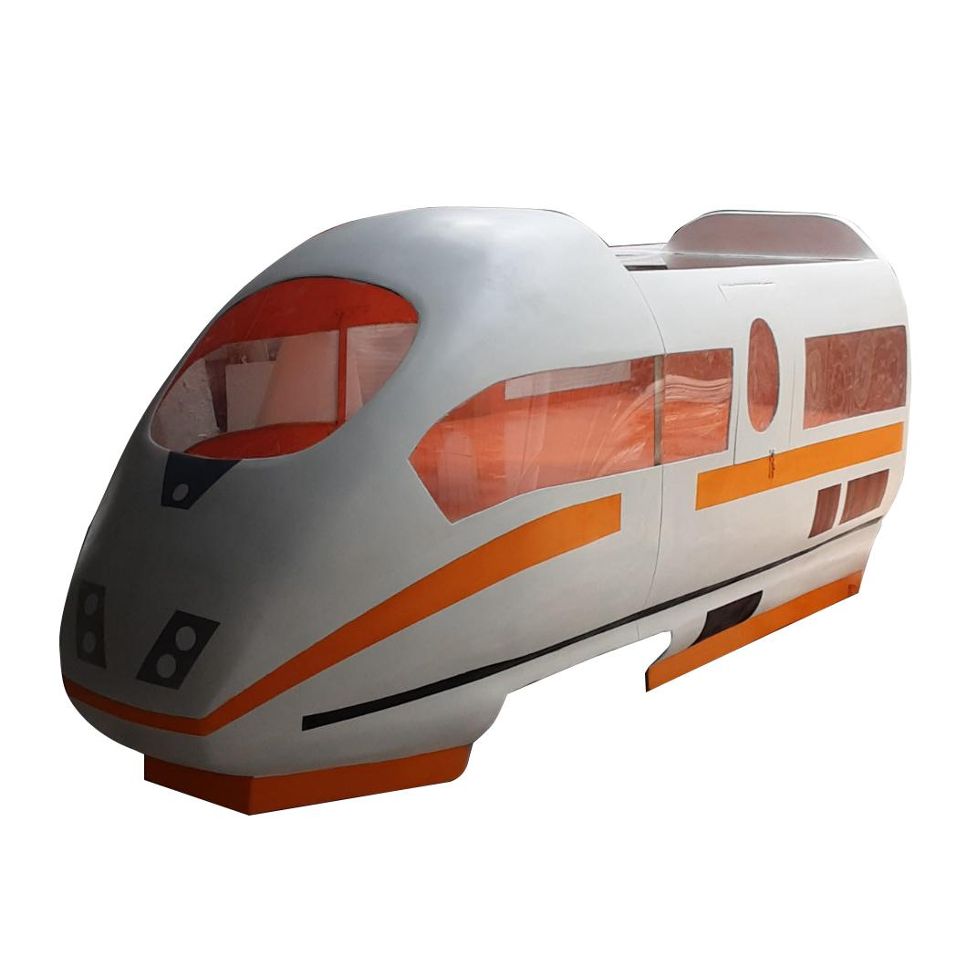 Mô hình đầu tàu hỏa  bằng composite