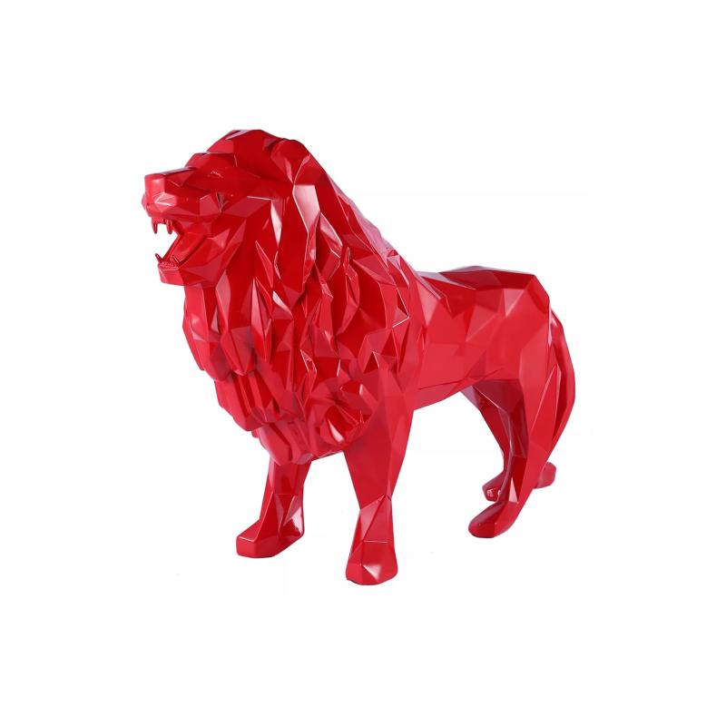 Mo hình con sư tử composite theo yêu cầu