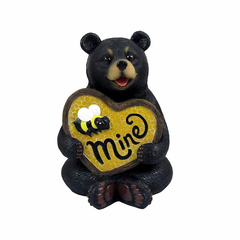 Mô hình chú gấu trái tim bằng composite