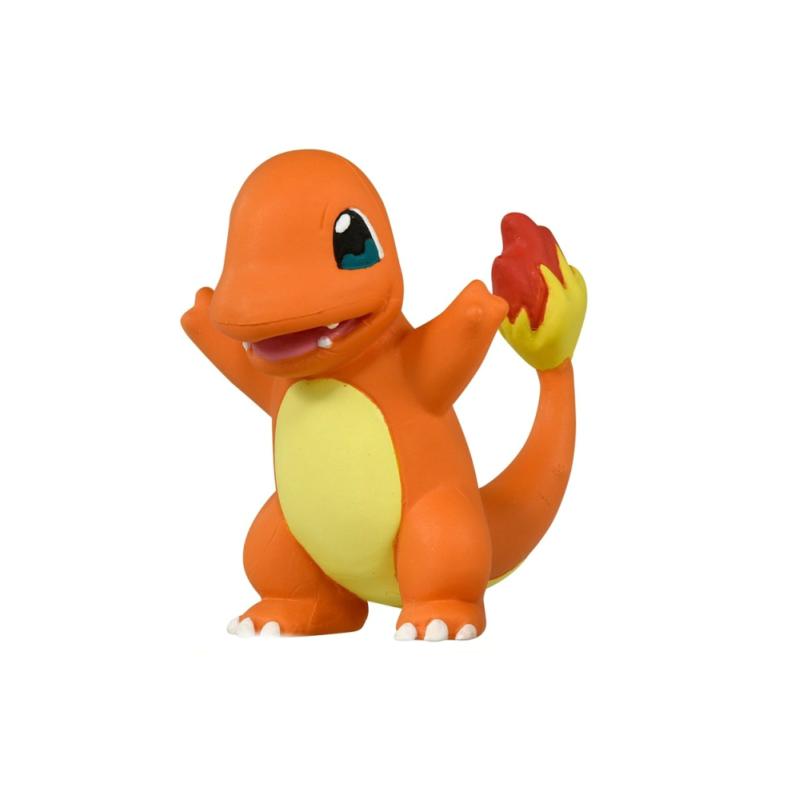 Mô hình charmander - pokemon bằng composite