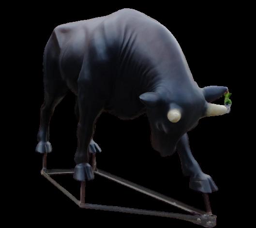 Mô hình đấu bò đáng yêu bằng composite