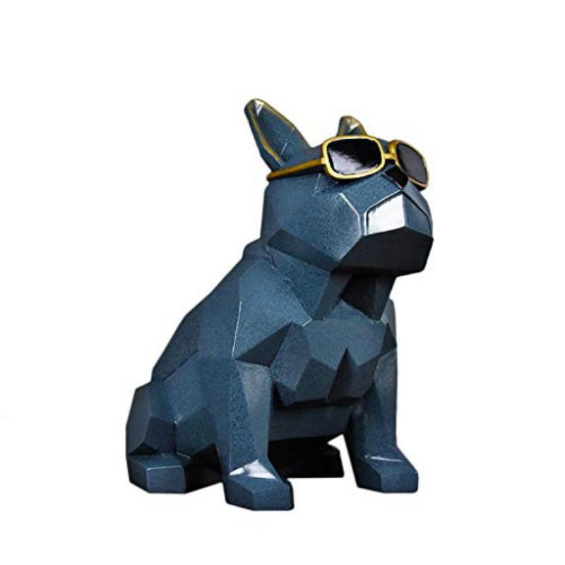 Mô hình con chó composite cao cấp